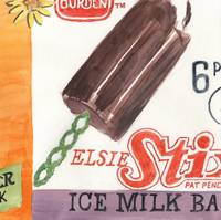 Borden Elsie Stix Ice Milk Bars