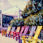 """chairs in market"" by ebadham"