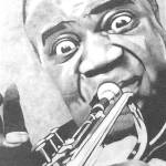 """Louis Armstrong"" by ippolito"