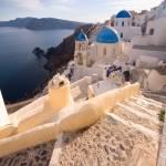 """Santorini Oia steps"" by larios"
