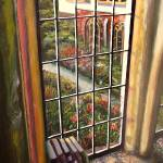 """View from the Abbey Window (Painting)"" by kellam"