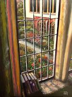 View from the Abbey Window (Painting)
