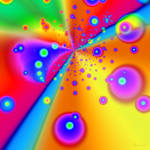 """Colorful Fractal 6"" by AnneVis"