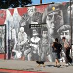 """Black Panther Party Mural on 11th Street and Jeffe"" by AfroPix"