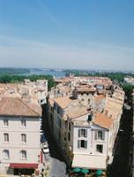 Arles, France Rooftop View