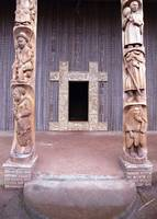Council Entry in Bandjoun, Cameroon