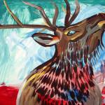 """Wary Elk"" by sondrasula"