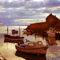 Lower Largo paint Art Prints & Posters by Alan Steele