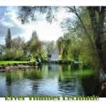 """The Thames Lechlade"" by annemade-art"
