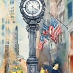 """American Pride Along Fifth Avenue"" by clovia"