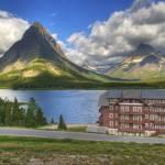 """Many Glacier Hotel"" by stevenberry"