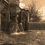 """Old Mill Restaurant Sepia"" by AwesomePhotography"