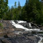 """Lower Falls at mouth of Montreal River"" by Picsofnature"