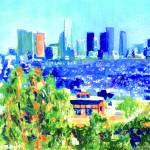 """Los Angeles, California by RD Riccoboni"" by BeaconArtWorksCorporation"