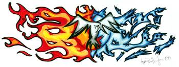 Fire and Ice Hawk