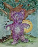 Purple Teddy
