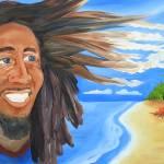 """""""Bob Marley Beach Scene"""" by joyouseye"""