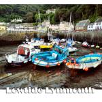 """Low Tide in Lynmouth"" by annemade-art"