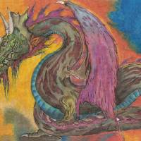 Dragon Art Prints & Posters by pepper sagooddog