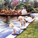 """Swan Boat"" by mariewitte"