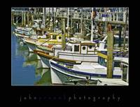 Boats ar Fishermans Wharf