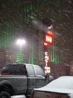 Snow Storm in Reno