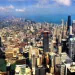 """Chicago Aerial 01"" by Cynthia_Burkhardt"