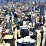 """Chicago Aerial 02"" by Cynthia_Burkhardt"