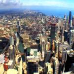 """Chicago Aerial 04"" by Cynthia_Burkhardt"