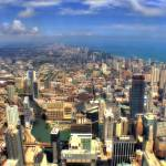 """Chicago Aerial 05"" by Cynthia_Burkhardt"