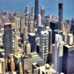 """Chicago Aerial 06"" by Cynthia_Burkhardt"