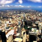 """Chicago Aerial 07"" by Cynthia_Burkhardt"