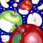 """""""1983 fineart apples tothecore"""" by CAMProductions"""