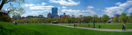Boston Common Panorama