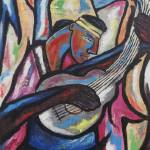 """""""Man with a guitar"""" by JohnnyGoolsby"""