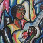 """Woman with a guitar"" by JohnnyGoolsby"