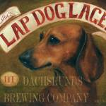 """Lillies Laptop Lager Dachshund Dog by Violano"" by stella"