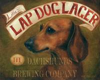 Lillies Laptop Lager Dachshund Dog by Violano