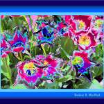 """Mozaic Flowers"" by PhotoArtbyBarb"