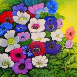 """""""anemones"""" by lorecolore"""
