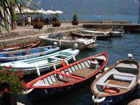 Fishing Boats on Lake Garda