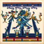 """""""Tlaloc the Aztec Rain God"""" by NewOdysseyArt"""