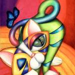 """""""BUTBA KITTY, by Alma Lee, EBSQ"""" by AlmaLee"""