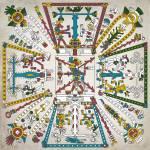 """The Five Regions of the Aztec World"" by NewOdysseyArt"