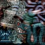 """""""Sacred Aztec Serpent"""" by NewOdysseyArt"""