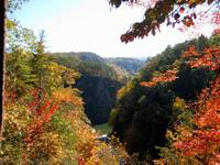 Tallulah Gorge State Park in Autumn