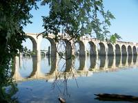 Railroad Bridge over the Susquehanna River