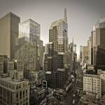 """""""Broadway and Times Square Manhattan NYC"""" by AlanCopson"""