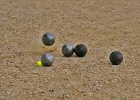 Boules in Play