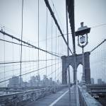 """Brooklyn Bridge New York City USA"" by AlanCopson"